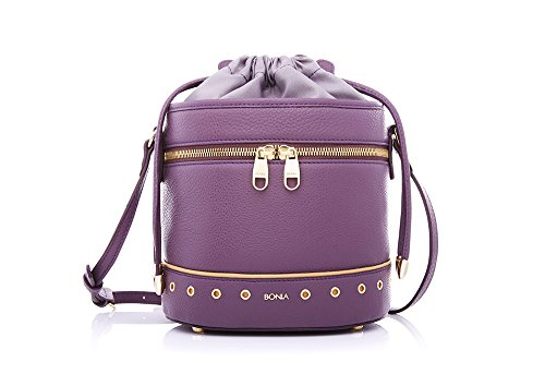 bonia-womens-milled-calf-leather-vintage-bucket-bag-one-size-lavender
