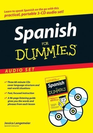 Spanish For Dummies Audio Set by Langemeier, Jessica 1st (first) (2007) Audio CD