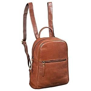 STILORD 'Scarlett' Sac a Dos Femme Cuir Petit Sac a Main Femmes Porte à l'épaule Shopping Backpack Daypack Retro Cuir…