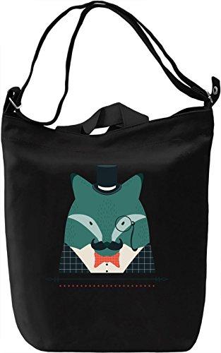Classy blue animal Borsa Giornaliera Canvas Canvas Day Bag| 100% Premium Cotton Canvas| DTG Printing|