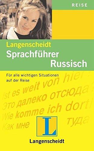 Langenscheidt Sprachführer Russisch: Für alle wichtigen Situationen auf der Reise