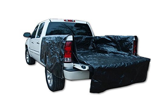 Heavy duty portable truck bed liner, adjustable truck tarp to protect your full size truck bed (Full Size Truck – Bed length (small) 63″ – 71″)