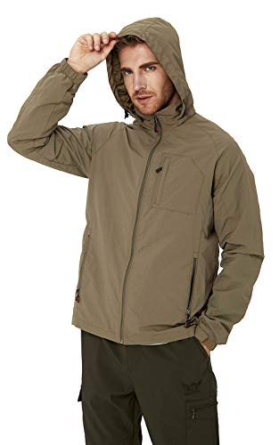 RAISEVERN Water-Resistant Sports Shell Jacket