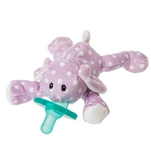 Mary Meyer Dot Dot Bunny WubbaNub Pacifier - Lavender