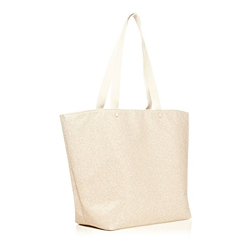 Glitter Gold Bag Womens Beach Collection HwqOpfzfS