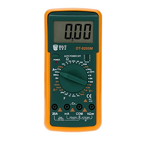 BEST Multi-function Digital Meter Intelligent Digit Multi-meter Digital Multimeter Multimetro DT-9205M