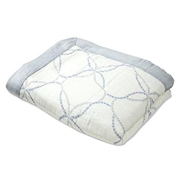 aden + anais silky soft daydream blanket, veranda