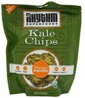 product image for Rhythm Superfoods Organic Mango Habanero Kale Chips, 2 Ounce -- 12 per case