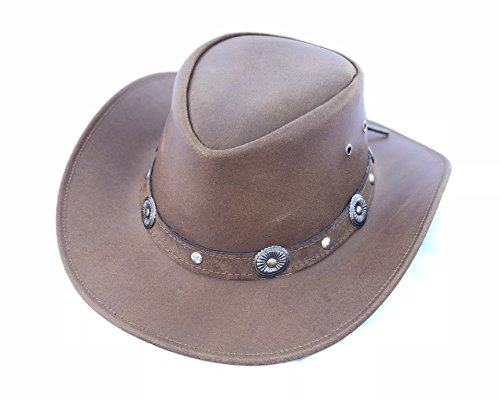 31f2872c17057 Galleon - KSUC Supplies Handmade Light Brown Western Cowboy Hat (X-Large)