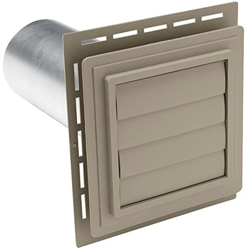 Alcoa Home Exteriors Louvered Exhaust Vent