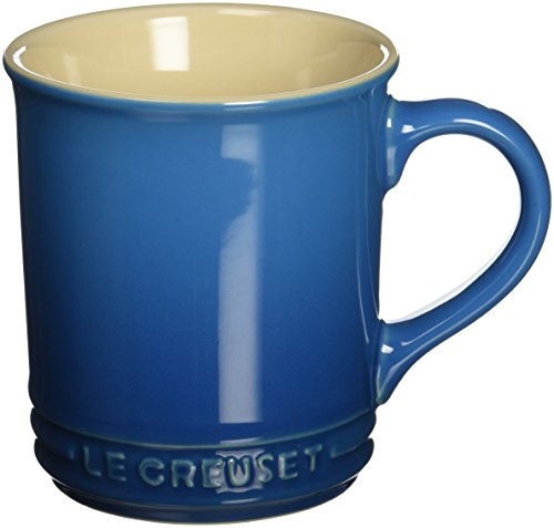 Le Creuset Stoneware 12-Ounce Mug, Marseille (4 Inch Mug)