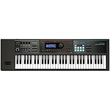 Roland Lightweight, 61-note Weighted-action Keyboard with Pro Sounds (JUNO-DS61)