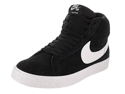 Nike SB Zoom Blazer MID Mens Fashion-Sneakers 864349-002_11.5 - Black/White-White-White