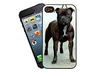 Eclipse Gift Ideas Staffordshire Bull Terrier Phone Case, Design For Apple Iphone 4/4S/Cover