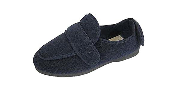 Footwear Studio - Zuecos para hombre, color azul, talla 41.5