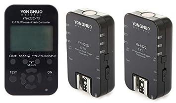 Yongnuo yn-622c-tx E-ttl Flash Inalámbrico Controlador Para Yn622c Disparador De Flash