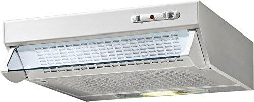 De Longhi DCH 6W EC - Campana extractora (60 x 40 cm), color blanco: Amazon.es: Grandes electrodomésticos