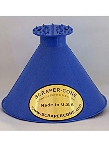 Scrape A Round Ice Scraper, Car windshield snow Scraper, Cone shaped Ice Scrapers