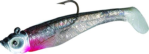 Northland Mimic Minnow Shad-Pack of 6 (1/8-Ounce, Silver)