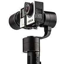 Zhiyun Z1-Evolution 3-Axis Handheld Gimbal for GoPro, Hero 3, 3+ & 4, CNC Aluminum Alloy Construction, Black