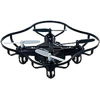 Luxon Quark RC Quadcopter 4 Channel 2.4 GHz 6-axis Gyro ,Mini Drone RTF GD50F (Black)