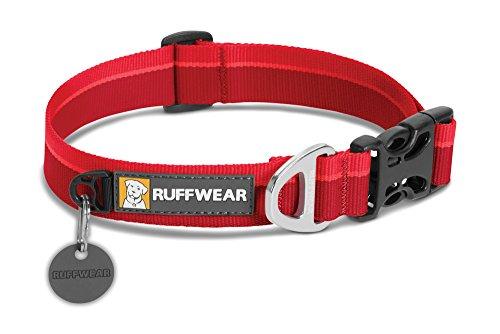RUFFWEAR - Hoopie Collar, Red Currant, Large (2018)