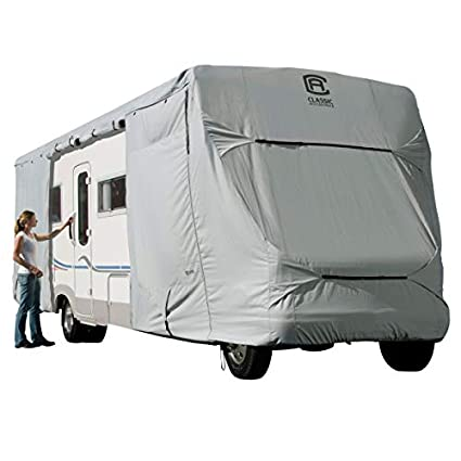 Amazon com: Classic Accessories Permapro Class C RV Cover fits
