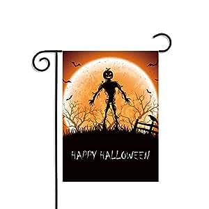 yohoba Halloween Zombie Party jardín bandera poliéster fuera Banners 12x 18inch