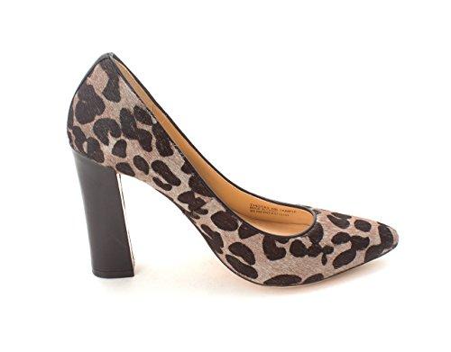 Cole Haan Womens Julianasam Fur Pointed Toe Classic Pumps Grey/Black Spots y060cWE5Me