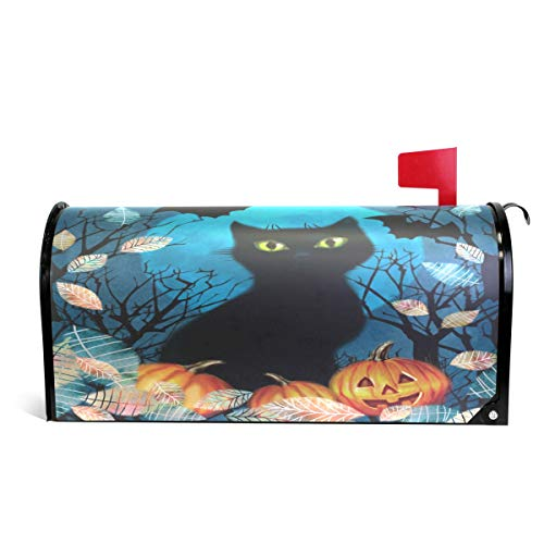 Naanle Halloween Holiday Magnetic Mailbox Cover, Halloween B