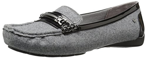 Lifestride Donna Vanity Slip-on Mocassino In Flanella Nera