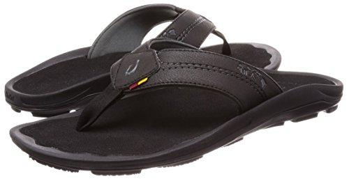 Pantofole Olukai Kipi - Uomo Nero / Nero