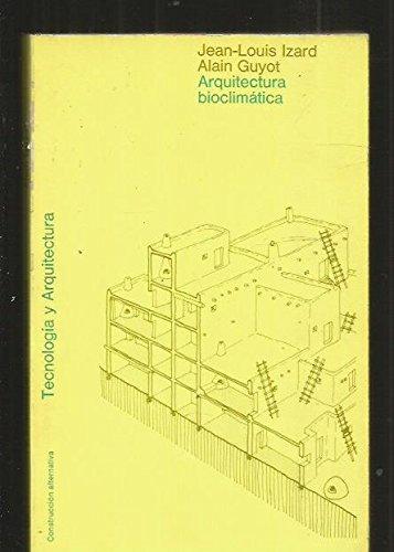 Descargar Libro Arquitectura Bioclimática Jean Izard