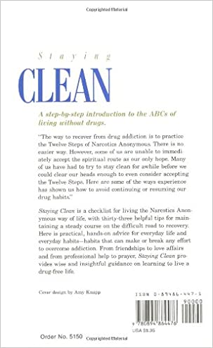 Staying Clean: Living Without Drugs: Anonymous Anonymous ...
