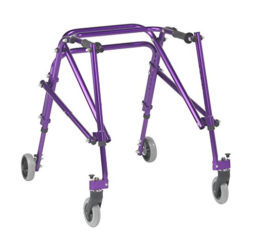 Inspired by Drive Nimbo 2G Lightweight Posterior Walker, Wizard Purple