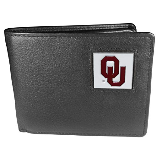 NCAA Oklahoma Sooners Leather Bi-fold Wallet