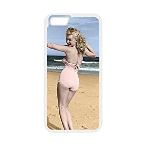 "QSWHXN Cover Shell Phone Case Marilyn Monroe For iPhone 6 Plus (5.5"")"