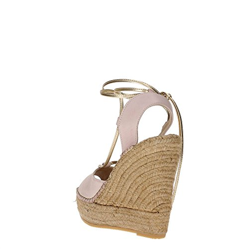 ROPE PINK SANDAL WOMAN LEATHER A229 PEPE SHOES WEDGE CODE PATRIZIA Pink 2V7018 4wyYSUXqx