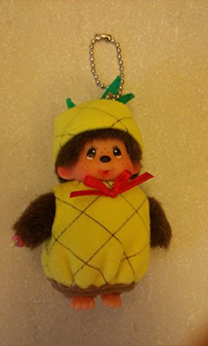 Monchhichi Plush (Monchhichi Fruit Costume Pineapple Plush Doll by Monchhichi)