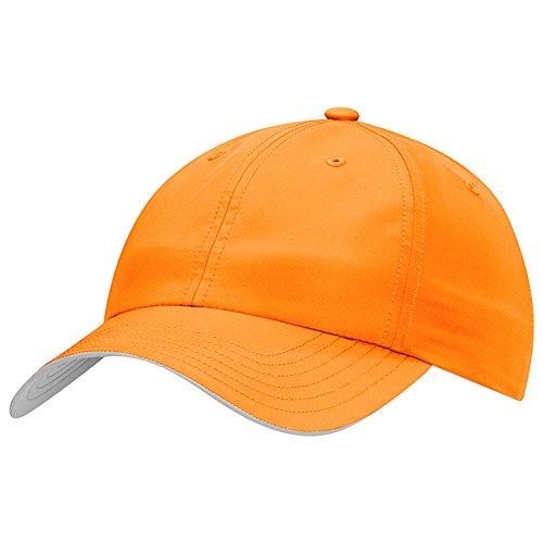 adidas New Golf Performance 6-Panel Bright Orange Adjustable Hat/Cap