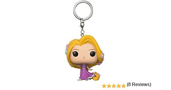 Funko-21320 Pocket Pop Keychain Tangled: Rapunzel (21320)