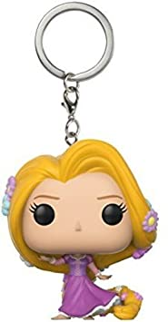FunKo Pocket Pop Keychain: Tangled: Rapunzel (Heart Strong/Dancing), 21320 Funko Pop! Keychains: Accessory Toys & Games