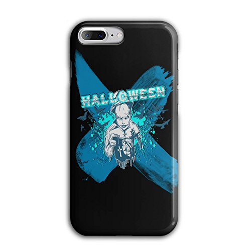 [Halloween Horror Cult Scary Demon NEW Black 3D iPhone 7 Plus Case | Wellcoda] (High Priest Zombie Costumes)