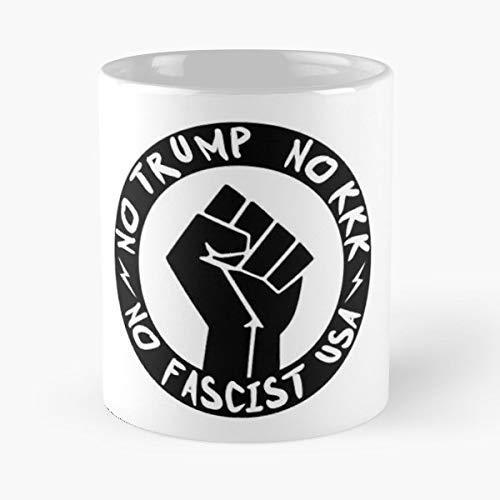 Billie Joe Armstrong Green Day No Trump Kkk Coffee Mugs Best Gift, Funny Cup