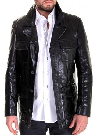 Et Redskins Starsky Vêtements Veste Bu Noir Homme Cuir vqx70CTw