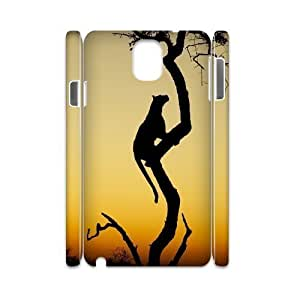 Africa DIY 3D Case for Samsung Galaxy Note 3 N9000, 3D Custom Africa Case