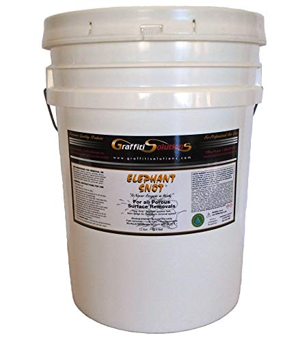 Graffiti Remover Elephant Snot (5 gallons) Sold by The Manufacturer