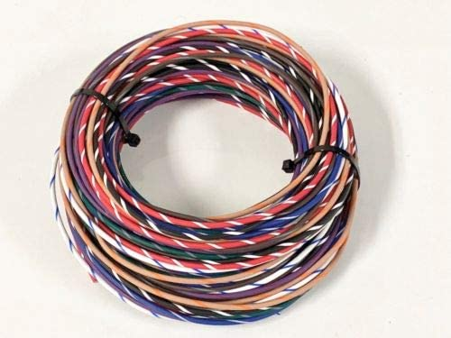 AUTOMOTIVE WIRE 10 AWG HIGH TEMPERATURE GXL WIRE RED 25 FT MADE IN U.S.A
