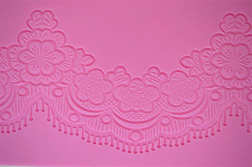 (Tiffany 3-D Silicone Lace Mat by Claire Bowman)
