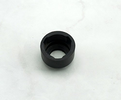 Personal Gear Shift (Shifter) Knob Base (Collar) - Black Rubber - Tall (Approximately 18.5mm Tall) - Part # 3806.00.2120